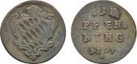 Pfennig 1797. BAYERN Karl Theodor, 1777-1799. Sehr schön.  10,00 EUR  Excl. 6,70 EUR Verzending