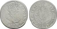 15 Kreuzer 1691, Kremnitz. RÖMISCH-DEUTSCHES REICH Leopold I., 1657-170... 40,00 EUR  Excl. 6,70 EUR Verzending