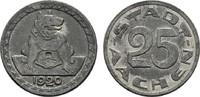 25 Pfennig 1920. RHEINPROVINZ  Sehr schön.  10,00 EUR  Excl. 6,70 EUR Verzending