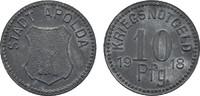 10 Pfennig 1918. SACHSEN-WEIMAR-EISENACH  Leichter Belag, Vorzüglich.  9,00 EUR  Excl. 6,70 EUR Verzending