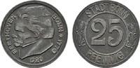 25 Pfennig 1920. RHEINPROVINZ  Sehr schön-vorzüglich.  3,00 EUR  Excl. 6,70 EUR Verzending