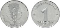 1 Pfennig 1950 A. DEUTSCHE DEMOKRATISCHE REPUBLIK, 1949-1990  Fast Stem... 30,00 EUR  Excl. 6,70 EUR Verzending
