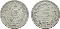 50 Centimes 1891 TUNESIEN Unter Frankreich. Sehr schön  10,00 EUR  Excl. 6,70 EUR Verzending