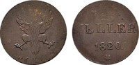 Ku.-Heller 1820 FRANKFURT  Sehr schön  5,00 EUR  Excl. 6,70 EUR Verzending