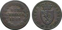 Ku.-Kreuzer 1855 NASSAU Adolph, 1839-1866. Schön-Sehr schön  5,00 EUR  Excl. 6,70 EUR Verzending