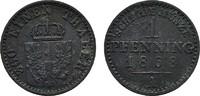Ku.-Pfennig 1868 A BRANDENBURG-PREUSSEN Wilhelm I., 1861-1888. Sehr sch... 3,00 EUR  Excl. 6,70 EUR Verzending