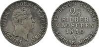 2 1/2 Silbergroschen 1850 A BRANDENBURG-PREUSSEN Friedrich Wilhelm IV.,... 12,00 EUR  Excl. 6,70 EUR Verzending
