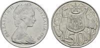 50 Cents 1966 AUSTRALIEN Elizabeth II. seit 1952. Stempelglanz  8,00 EUR  Excl. 6,70 EUR Verzending