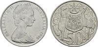 50 Cents 1966 AUSTRALIEN Elizabeth II. seit 1952. Stempelglanz  8,00 EUR  zzgl. 4,50 EUR Versand