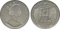 Crown 1989 GROSSBRITANNIEN Elizabeth II seit 1952. Polierte Platte  5,00 EUR  zzgl. 4,50 EUR Versand