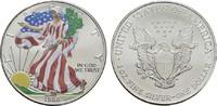 1 Dollar (farbig) 1998 USA  Stempelglanz  25,00 EUR  Excl. 6,70 EUR Verzending