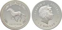 1 Dollar 2002, P. AUSTRALIEN Elizabeth II. seit 1952. Polierte Platte  100,00 EUR  Excl. 6,70 EUR Verzending