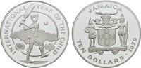 10 Dollars 1979. JAMAIKA Elizabeth II. seit 1952. Polierte Platte  16,00 EUR  zzgl. 4,50 EUR Versand