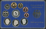 Kursmünzensatz 2000 J BUNDESREPUBLIK DEUTSCHLAND  Polierte Platte  15,00 EUR  Excl. 6,70 EUR Verzending