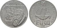 50 Euro 1997 NIEDERLANDE Beatrix, 1980-2013. Polierte Platte  40,00 EUR  Excl. 6,70 EUR Verzending