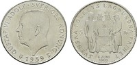 5 Kronen 1959 SCHWEDEN Gustav VI. Adolf, 1950-1973. Stempelglanz  10,00 EUR  Excl. 6,70 EUR Verzending