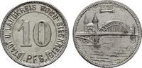 10 Pfennig 1919 RHEINPROVINZ  Vorzüglich +  6,00 EUR  Excl. 6,70 EUR Verzending
