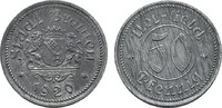 50 Pfennig 1920. BREMEN  Leichte Patina. Vorzüglich +.  5,00 EUR  Excl. 6,70 EUR Verzending