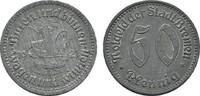 50 Pfennig 1921. BREMEN  Vorzüglich.  5,00 EUR  Excl. 6,70 EUR Verzending