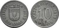 10 Pfennig 1919. WESTFALEN  Leicht fleckig. Vorzüglich -.  5,00 EUR  Excl. 6,70 EUR Verzending