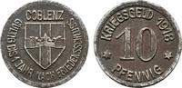 10 Pfennig 1918. RHEINPROVINZ  Vorzüglich +.  3,00 EUR  Excl. 6,70 EUR Verzending