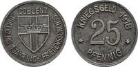 25 Pfennig 1918. RHEINPROVINZ  Fast vorzüglich.  4,00 EUR  Excl. 6,70 EUR Verzending