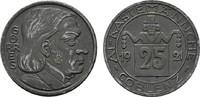 25 Pfennig 1921. RHEINPROVINZ  Fast vorzüglich.  4,00 EUR  Excl. 6,70 EUR Verzending