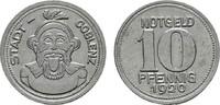 10 Pfennig 1920. RHEINPROVINZ  Vorzüglich +.  3,00 EUR  Excl. 6,70 EUR Verzending