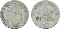 50 Centimes 1864 A. FRANKREICH Napoléon III, 1852-1870. Sehr schön -  12,00 EUR  Excl. 6,70 EUR Verzending