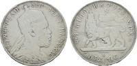 Birr 1889(1897) A. ÄTHIOPIEN Menelik II., 1889-1913. Sehr schön -  45,00 EUR  Excl. 6,70 EUR Verzending