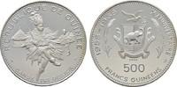 500 Francs 1969. GUINEA Republik. Polierte Platte.  60,00 EUR  Excl. 6,70 EUR Verzending
