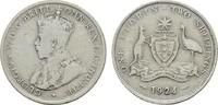 Florin (2 Shillings) 1924. AUSTRALIEN George V, 1910-1936. Sehr schön  23,00 EUR  Excl. 6,70 EUR Verzending