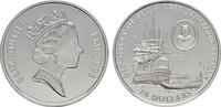 10 Dollars 1993. FIDSCHI INSELN Elizabeth II. seit 1952. Polierte Platte  20,00 EUR  plus 6,70 EUR verzending