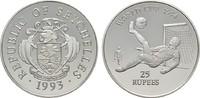 25 Rupees 1993. SEYCHELLEN  Polierte Platte  20,00 EUR  plus 6,70 EUR verzending