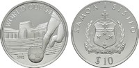 10 Tala 1992. SAMOA ISLANDS  Polierte Platte  20,00 EUR  plus 6,70 EUR verzending
