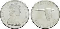 1 Dollar 1967. KANADA Elizabeth II. seit 1952. Stempelglanz -  13,00 EUR  plus 6,70 EUR verzending