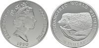 50 Dollars 1990. COOK ISLANDS Elizabeth II. seit 1952. Polierte Platte  16,00 EUR  plus 6,70 EUR verzending