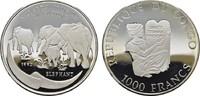 1000 Francs 1993. KONGO Demokratische Republik Kongo seit 1998. Poliert... 30,00 EUR  zzgl. 4,50 EUR Versand