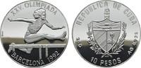 10 Pesos 1990. KUBA Republik seit 1902. Polierte Platte.  18,00 EUR  zzgl. 4,50 EUR Versand