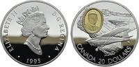 20 Dollars 1995. KANADA Elizabeth II. seit 1952. Polierte Platte  38,00 EUR  zzgl. 4,50 EUR Versand