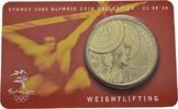 5 Dollars 2000. AUSTRALIEN Elizabeth II. seit 1952. Stempelglanz  7,00 EUR  Excl. 6,70 EUR Verzending