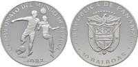 10 Balboas 1982. PANAMA Republik. Polierte Platte  18,00 EUR  Excl. 6,70 EUR Verzending