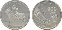 1 Ecu 1989. SPANIEN Juan Carlos I., 1975-2014. Polierte Platte  7,00 EUR  zzgl. 4,50 EUR Versand