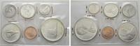 Münzset 1967. KANADA Elizabeth II. seit 1952. Stempelglanz  24,00 EUR  zzgl. 4,50 EUR Versand
