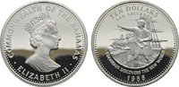 10 Dollars 1988. BAHAMAS Elizabeth II seit 1952. Polierte Platte  30,00 EUR  zzgl. 4,50 EUR Versand