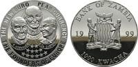 1.000 Kwacha 1999. ZAMBIA Zweite Republik seit 1972. Polierte Platte  10,00 EUR  zzgl. 4,50 EUR Versand
