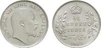 1/4 Rupee 1904. GROSSBRITANNIEN British India. Stempelglanz  42,00 EUR  zzgl. 4,50 EUR Versand