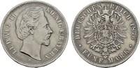 5 Mark 1876, D. Bayern Ludwig II., 1864-1886. Sehr schön  45,00 EUR  zzgl. 4,50 EUR Versand