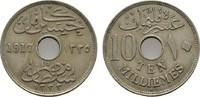 10 Milliemes 1917 H. ÄGYPTEN Husein Kamil, 1915-1917. Sehr schön +  8,00 EUR  zzgl. 4,50 EUR Versand