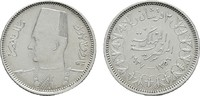 2 Piaster AH 1356. ÄGYPTEN Farouk, 1937-1953. Sehr schön +  8,00 EUR  zzgl. 4,50 EUR Versand